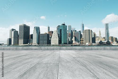 Bright city backdrop - 199693930