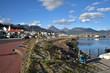 Le port d'Ushuaia en Argentine