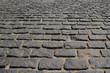 Сobblestone pavement.