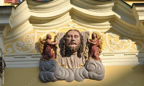 Poster Artistique Rzeźba Chrystusa