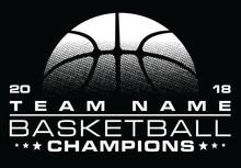 Basketball Champions Design Wi...