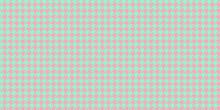 Light Green Pink Seamless Houn...