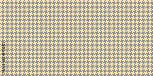 Photo  Grey Beige Seamless Houndstooth Pattern Background