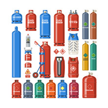 Gas Cylinder Vector Lpg Gas-bo...