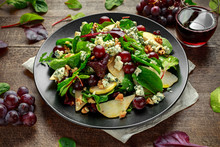 Fresh Pears, Blue Cheese Salad...