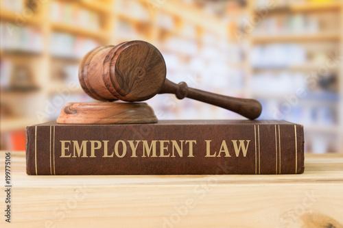 employment law Fotobehang