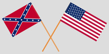 USA. North And South. Union An...