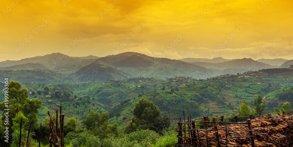 Fototapety, obrazy: rwanda, africa