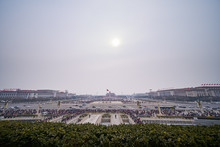 Panorama Of The Tiananmen Squa...