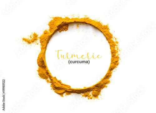 Fotografie, Obraz  Turmeric powder or Curcuma