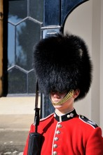 Royal Guard In Tower Of London...