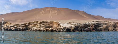 Foto Bootstour vorbei an dem El Candelabro (Nazcalinien) zu den Ballestas Inseln