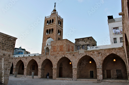 The Mansouri Great Mosque in Tripoli in Lebanon