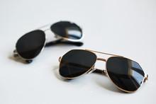 Stylish Sunglasses Pair Isolat...