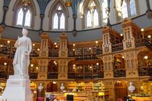 Parliament Of Ottawa In Canada