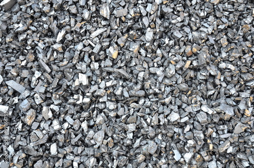 Enriched fine coal anthracite of fine fraction. Tablou Canvas