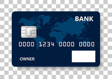 Credit Card, Banking Card, Debit Card. Background Template Visa Mastercard