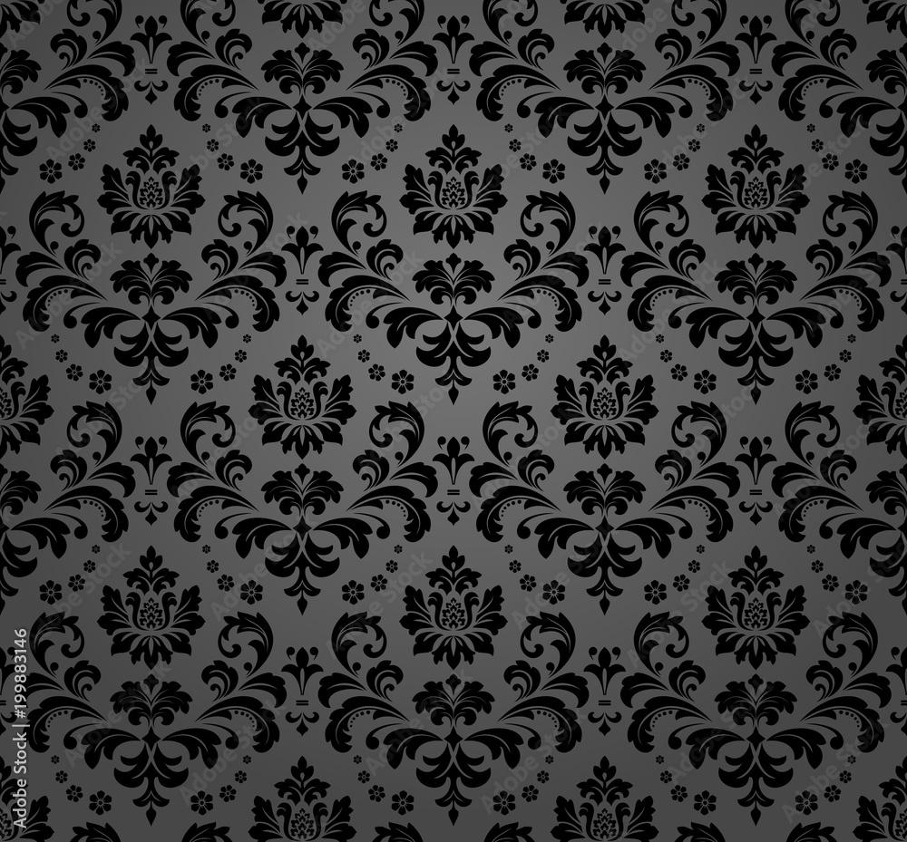 Gamesageddon Stock Floral Pattern Wallpaper Baroque Damask