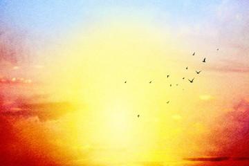 Obraz na Szkle Niebo sky