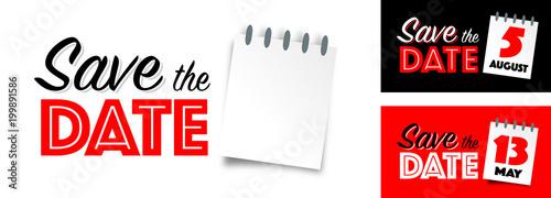 Obraz Save the date - fototapety do salonu