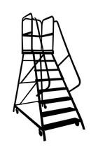 Industry Ladder Vector Silhoue...