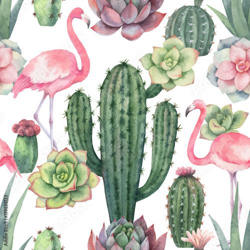 akwarela-wektorowy-bezszwowy-wzor-rozowy-flaming-kaktusy-i-sukulent-rosliny