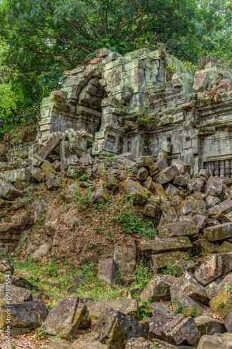 Poster Ruine Cambodia Angkor Complex 360