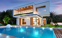 Belle Maison Moderne D'archite...