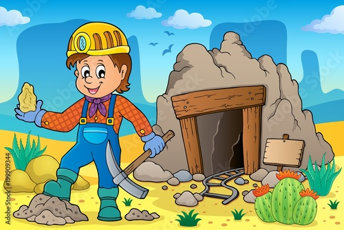 For Kids Miner theme image 2
