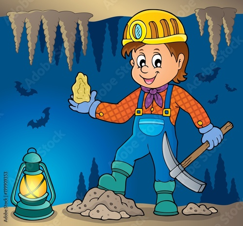 For Kids Miner theme image 3