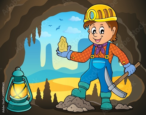For Kids Miner theme image 4