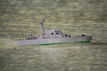 Model Of The Military Boat In ...