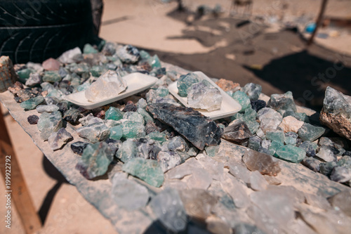 Foto op Canvas Stenen Gemstones