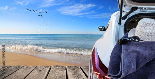 Foto  vacaciones de verano en la playa