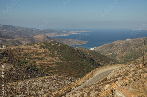 Amorgos, Cyclades, Greece Wallpaper Mural