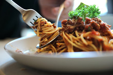 Spaghetti Bolognese With Mince...