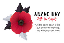 Anzac Day Card