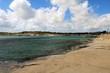 Beach of Saint Thomas Bay in Marsaskala, Malta