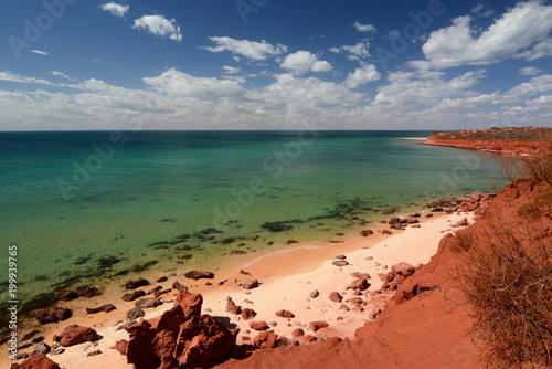 Fotobehang Oceanië Bottle Bay. François Peron national park. Denham. Shark Bay. Western Australia