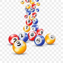 Bingo Lottery 3d Balls For Ken...