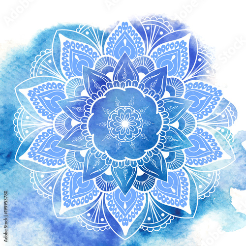 Flower Mandala Wallpaper Mural