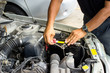 Install the new car battery