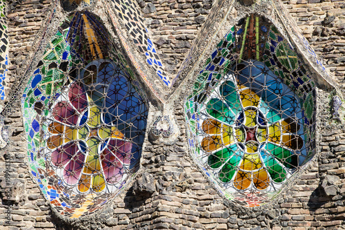Stained Glass Windows of the Colonia Guell Church