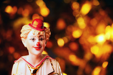 Clown Porcelain Figure Studio