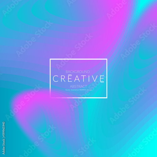 Template with Fluid gradient shape with transparent blend Wallpaper Mural