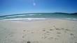 Clear water in Alghero shore. Sardinia, Italy