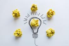 Creative Idea. Concept Of Idea...