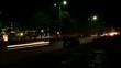 Time Lapse - Highway Traffic Rush - Night