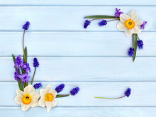 Narcissus, Hyacinths And Flowe...