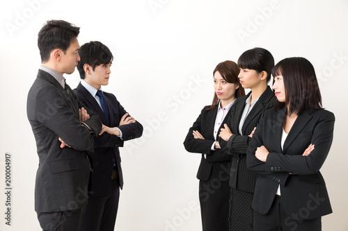 Fototapeta ビジネス 衝突